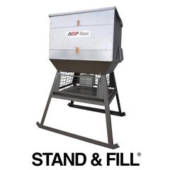 Stand and Fill -All Season Feeders